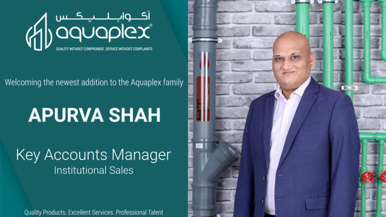 Appointment of Mr. Apurva Shah as Key Account Manager for Institutional Sales Division