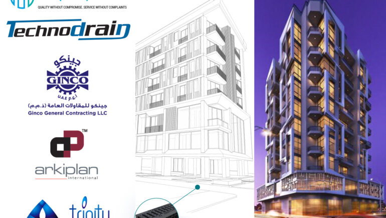 Aquaplex to supply Technodrain – Linear Drainage systems to an upcoming residential complex in Satwa, Dubai