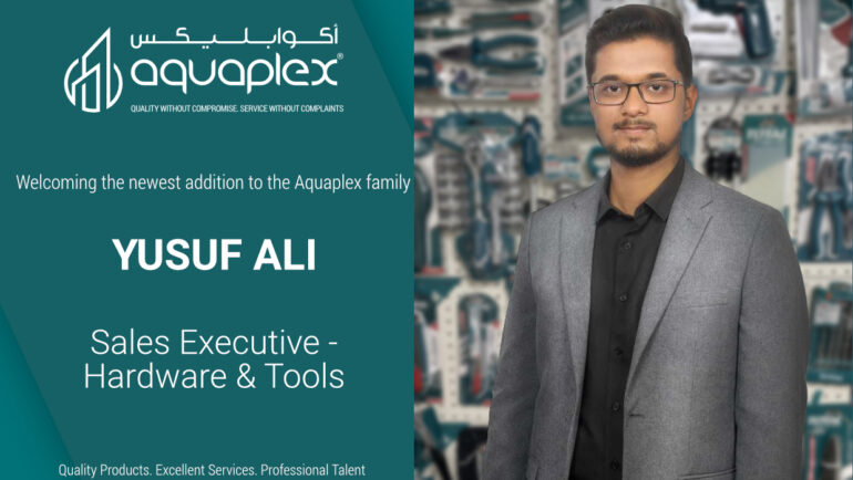 Appointment of Mr. Yusuf Ali Sadriwala as Sales Executive for the Hardware and Power Tools Division