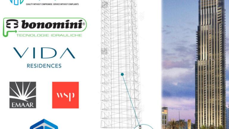 Aquaplex to supply Bonomini – Bottle Traps & Siphons to Vida Dubai Mall a project by Emaar Properties