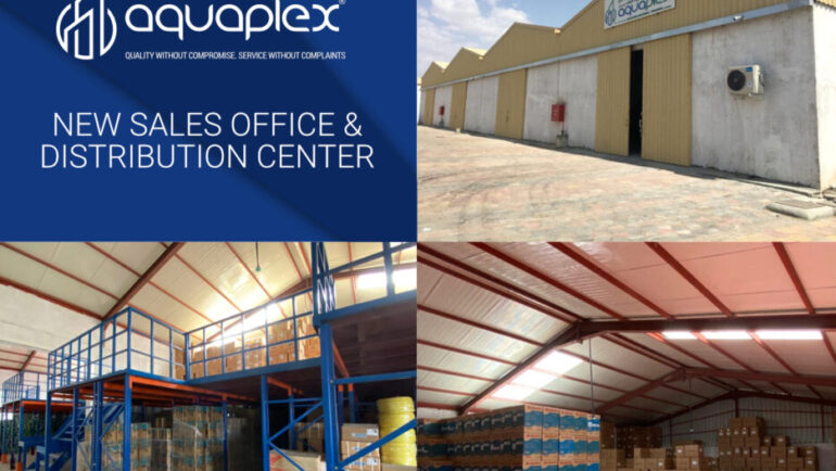 Aquaplex launches new sales office and Distribution centre in Al Ain