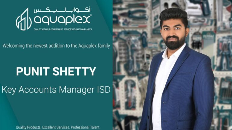 Punit Shetty has joined the Qatar ISD team as a Key Account Manager