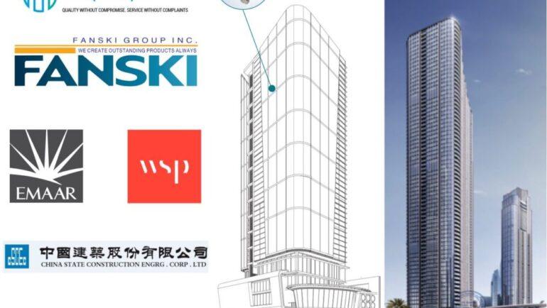 Aquaplex to supply Fanski – Flexible Hose to The B4 Residential Tower, Dubai