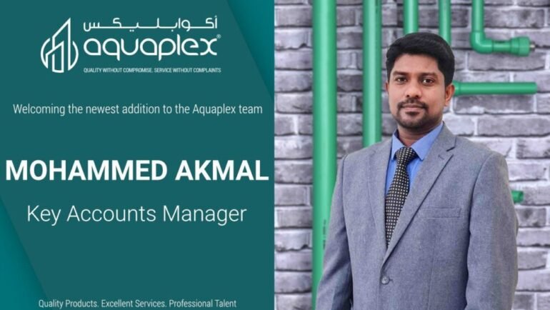 Appointment of Mr. Mohammed Akmal as Key Account Manager for Institutional Sales Division