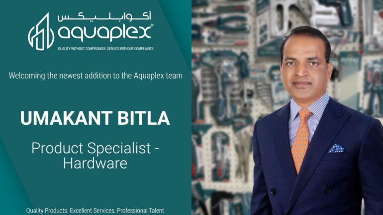 Appointment of Mr. Umakant Bitla as Product Specialist for Tools and Hardware Division